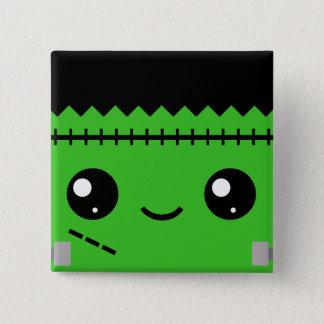 Frankenstein Monster 15 Cm Square Badge