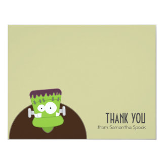 Frankenstein Monster | Flat Thank You Note Cards