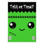 Frankenstein Monster Personalised Invitation