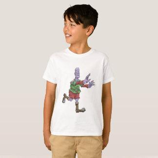 Frankenstein on a kids tshirt. T-Shirt