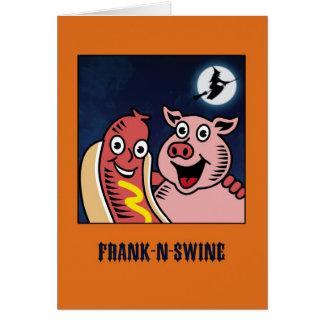 Frankenstein Parody Funny Halloween Card