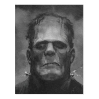 Frankenstein Postcards