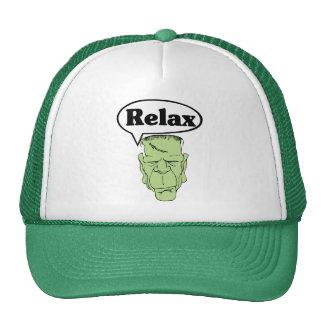 Frankenstein Relax Trucker Hat Mesh Hats