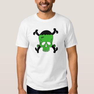 Frankenstein Skull Tee Shirt