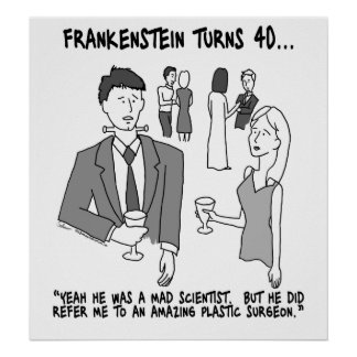 Frankenstein Turns 40 Poster