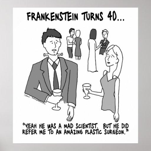 Frankenstein Turns 40 Poster