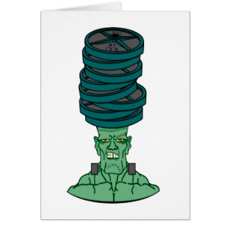 Frankenstein under weights card