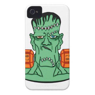 Frankenstein under weights iPhone 4 Case-Mate cases
