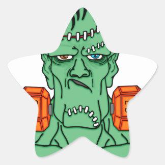 Frankenstein under weights star sticker