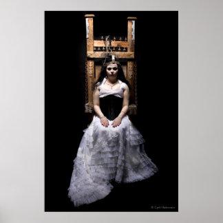 """""""Frankenstein's Bride"""" poster by Cyril Helnwein"""