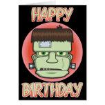 Frankenstein's Monster Birthday Card