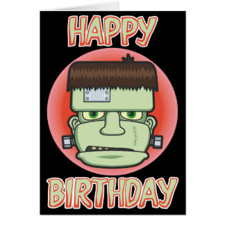 Frankenstein's Monster Birthday Card