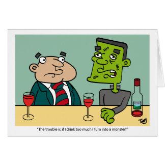 Frankenstein's Monster Card