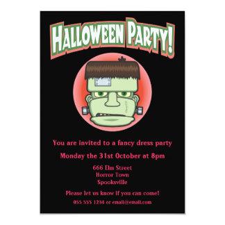 Frankenstein's Monster Halloween Invitation 13 Cm X 18 Cm Invitation Card