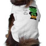 Frankenstein's Monster Pet Shirt