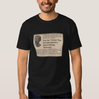 Frankenstein's Old Time Ad T-shirts