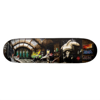Frankenstein's Rats - Street Art Skateboard Deck