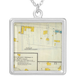 Frankfort, Kentucky 10 Silver Plated Necklace