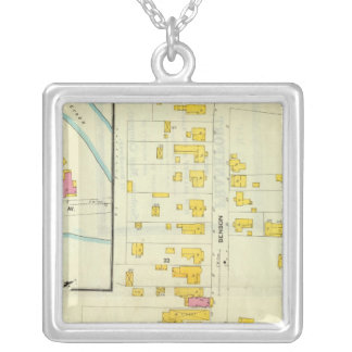 Frankfort, Kentucky 11 Silver Plated Necklace