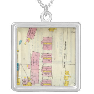 Frankfort, Kentucky 12 Silver Plated Necklace