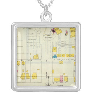 Frankfort, Kentucky 13 Silver Plated Necklace