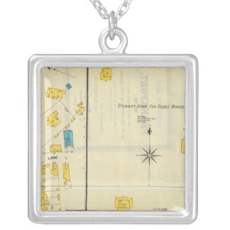 Frankfort, Kentucky 14 Silver Plated Necklace