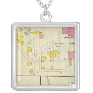 Frankfort, Kentucky 17 Silver Plated Necklace
