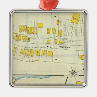 Frankfort, Kentucky 18 Christmas Ornament