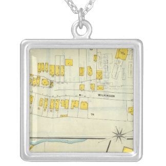 Frankfort, Kentucky 18 Silver Plated Necklace