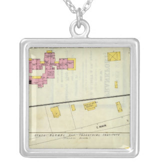 Frankfort, Kentucky 2 Silver Plated Necklace