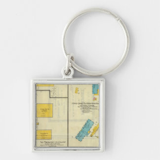 Frankfort, Kentucky 3 Key Ring