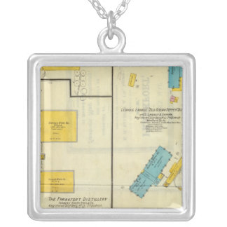 Frankfort, Kentucky 3 Silver Plated Necklace