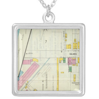 Frankfort, Kentucky 4 Silver Plated Necklace