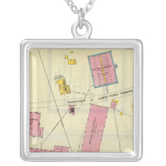Frankfort, Kentucky 6 Silver Plated Necklace