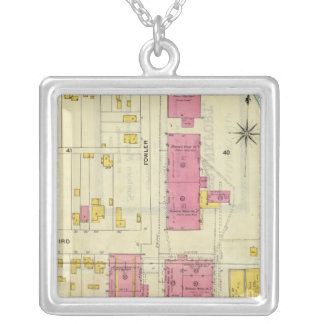 Frankfort, Kentucky 8 Silver Plated Necklace