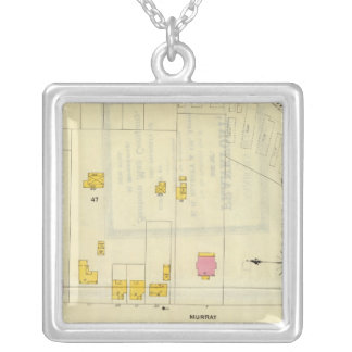 Frankfort, Kentucky 9 Silver Plated Necklace