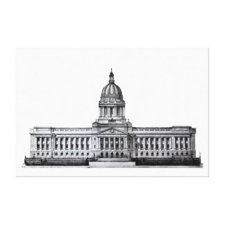 Frankfort Kentucky Kentucky State Capitol Building Stretched Canvas Prints