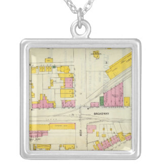 Frankfort, Kentucky Silver Plated Necklace