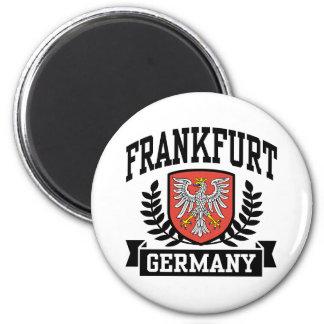Frankfurt 6 Cm Round Magnet