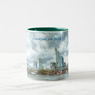 Frankfurt a.m. Main Two-Tone Coffee Mug