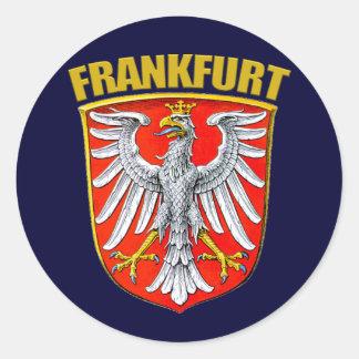 Frankfurt am Main Classic Round Sticker