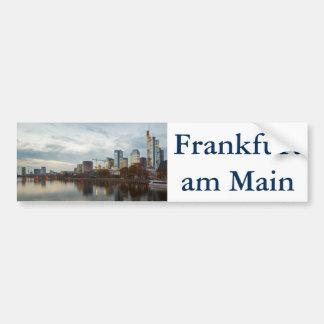 Frankfurt am Main skyline Bumper Sticker