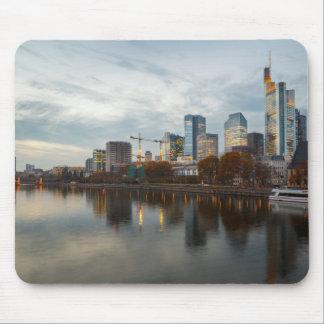 Frankfurt am Main skyline Mouse Mat