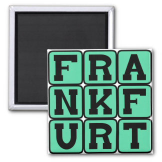 Frankfurt, City in Germany Magnet