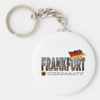 Frankfurt Germany Key Chain