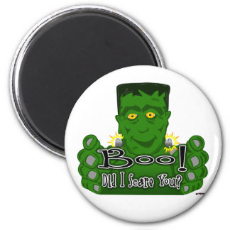 Frankie Boo! Did I Scare You? Fridge Magnet
