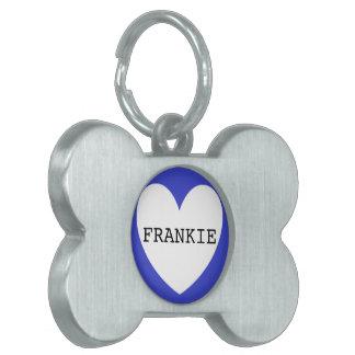❤️   FRANKIE pet tag by DAL