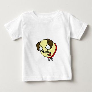 Frankie the Furious Pug Dog Baby T-Shirt