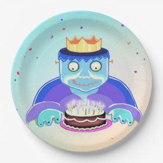 Frankie's Birthday paper plate