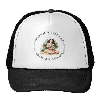 Frankie's Tiki Bar Hula Girl Cap
